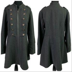 Torrid Military Style Coat Size 1